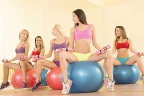 Yes, you  might look hot in your scanty workout gear, but not everyone wants to see your abs or your butt.
