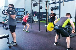 If the gym is crowded, don't spend all day on the same equipment. Give others a chance.