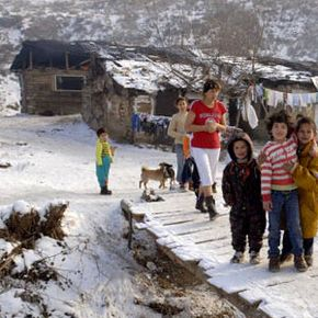 Many gypsies live in poverty, and a majority of children are illiterate.