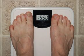 Your body mass index takes into account your weight and height.