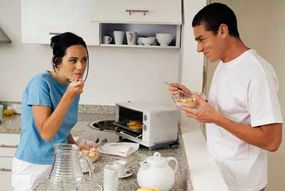 For smaller meals or reheating, try a toaster oven or microwave.