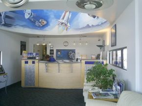 The Space Age Lodge in Gila Bend, Arizona, is a unique Best Western that was the brainchild of Leo Stovall.