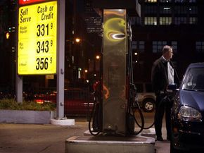 Do you know how much gas you're pumping right now?