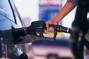 Many gas pumps have additives available at your fingertips -- just push a button and they're instantly mixed with the gas as you fill up.