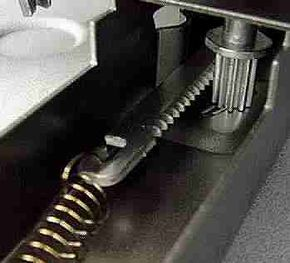 Rack and pinion gears from a household scale