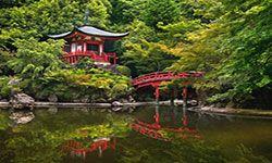 Daigo-ji Temple in Kyoto, Japan