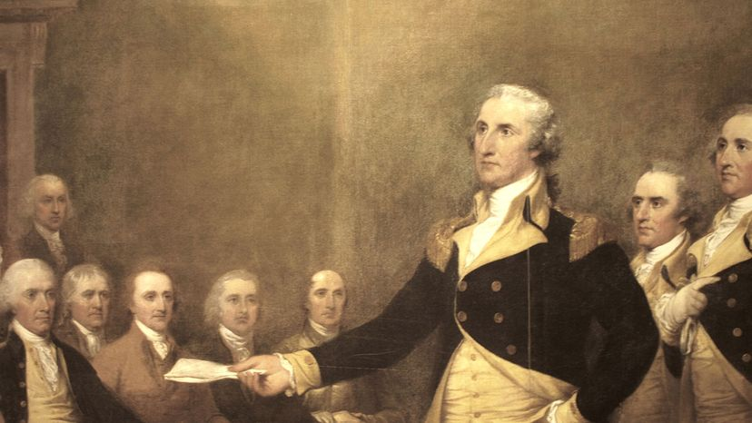 Goerge Washington painting, u.s. Capitol