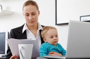 Many women struggle to balance work and family.