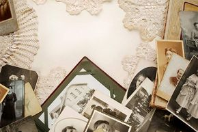 Rather than inserting the original photos in your scrapbooks, use high-resolution copies and keep the originals in acid-free archival boxes.