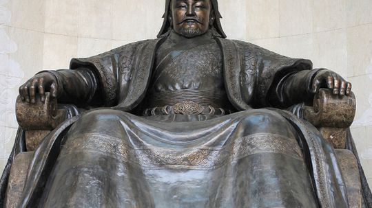 Are millions of modern humans the direct descendants of Genghis Khan?
