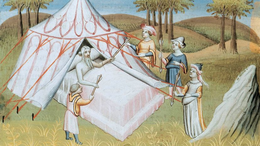 genghis kahn, deathbed