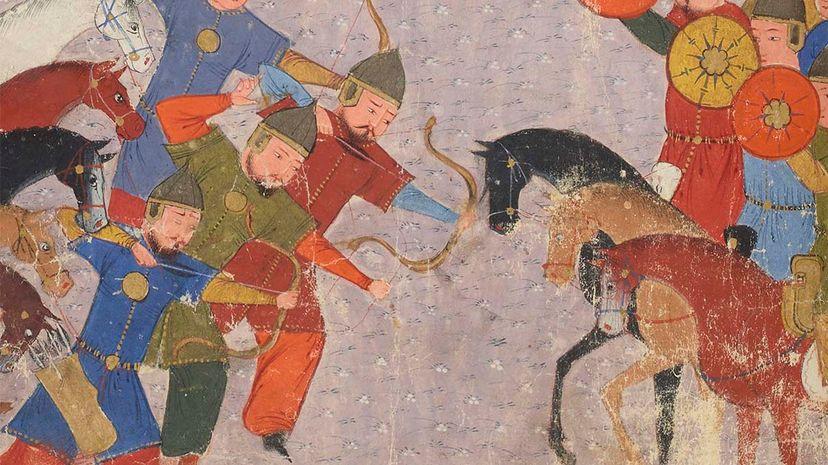 Genghis Kahn, Khwarezmian