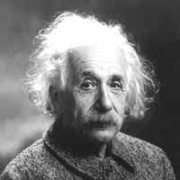 Without a doubt, Einstein was a genius.