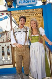 It's pretty easy to recognize traditional German dress.