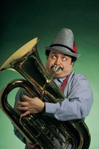 This guy takes his Oompah music seriously.