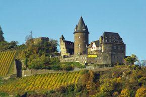 Stahleck Castle in Rhineland-Palatinate, Germany, boasts the Winery Stahl.