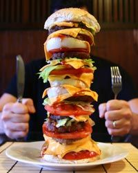 This is what we call heartburn/a heart attack on a plate.