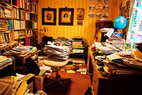 Do you really want to dust and move all this stuff around if you don't have to?
