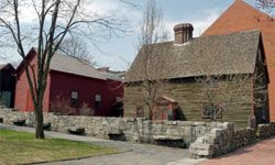 The Witch Trials Memorial, which is dedicated to the innocent victims of the Salem Witch Trials, is just part of several haunted tours you can take through this centuries-old town.