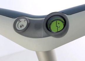 The driver interface is designed to be simple and intuitive.
