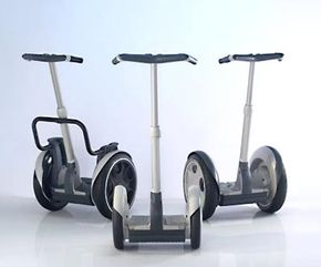 Segways come in a range of sizes (and prices).