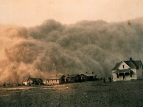 Carbon dioxide levels at 450 ppm could result in widespread drought and famine comparable to the Dust Bowl of the 1930s in the United States.