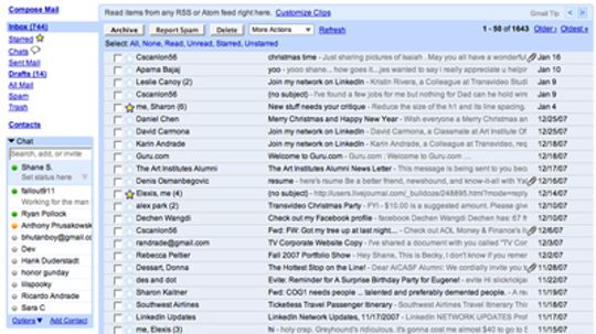 How Gmail Works