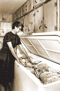 Using a freezer as a fridge replacement doesn't necessarily result in super energy savings.