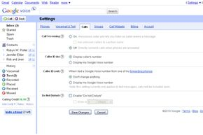 Google Voice lets you control which features you use and how.