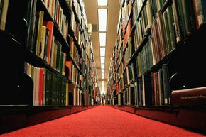 Google has plans to scan and index entire libraries, such as the one at Stanford University.