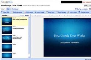 Google envisions everything you do on the computer being accomplished through Web applications like Google Docs running within a browser interface.