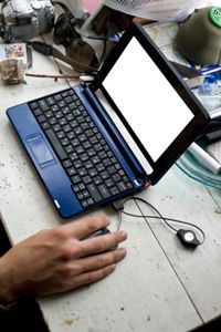The Chrome OS is designed to run on small, lightweight netbooks that have little storage capacity.