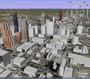 3-D Atlanta