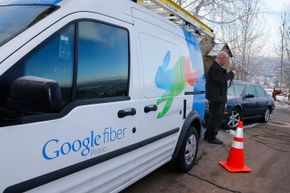 In 2014, Google Fiber rolled out in Provo, Utah.