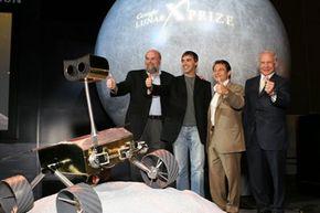 Google and the X Prize Foundation announce their partnership in sponsoring the Lunar X Prize.