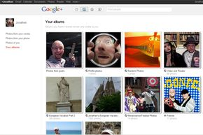 The photo albums on Google Plus allow you to upload as many as 1,000 images per album, just one of Google Plus's features.