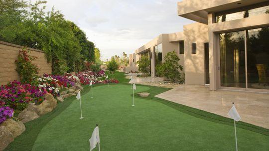 How to Build a Backyard Golf Green