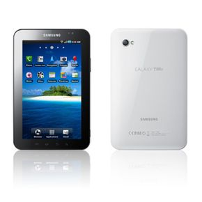 You can find Gorilla Glass in many products, including Samsung's Galaxy Tab device.
