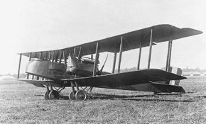 """The Gotha G.V had two """"pusher"""" engines, mounted aft of the nose, and was a pioneer in the use of steel in airplane construction. See more classic airplane pictures."""