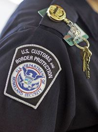 U.S. Customs and Border Patrol agents can seize electronic devices coming into the country and hold them indefinitely.