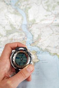 Although it's wise to also carry a battery-free paper map when transversing unknown territory, GPS watches can take you just about anywhere on earth.