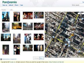 Panoramio is a Google-owned Web service that lets you share GPS-tagged photos and create photo maps.