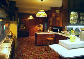 Lot of mashed potatoes and bacon were cooked up in the Graceland kitchen.