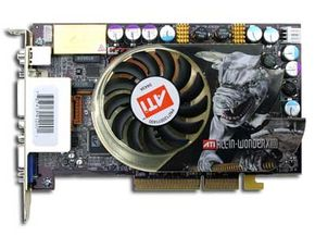 Some cards, like the ATI All-in-Wonder, include connections for televisions and video as well as a TV tuner.