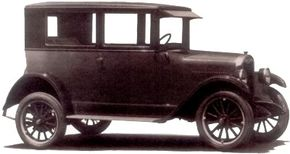 As horseless carriages gave way to reliable automobiles like this 1925 Chevrolet, nearly everyone wanted to buy one. All-season paved roads increased in number and, as a result, short-haul business for steam railroads, streetcar systems, and electric interurbans began to drop.