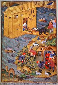 One of the most famous flood myths is that of Noah.