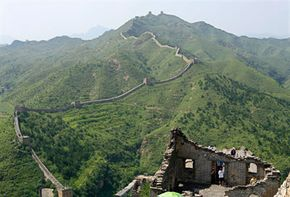 Famous Landmarks Image Gallery The Great Wall of China was built to keep out invading Huns, and today it attracts 10 million tourists annually. See more pictures of famous landmarks.