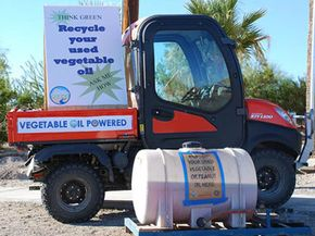 Cars powered by vegetable oil are known as grease cars. See more pictures of alternative fuel vehicles.