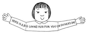 A Hug for You Card is a clever way to share your feelings.