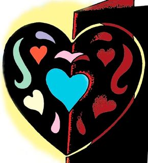 A Stained Glass Heart is an ideal way to show someone you care.